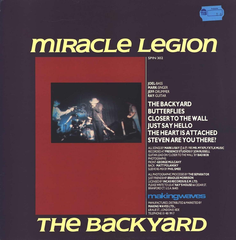 miracle legion the backyard amazon com music