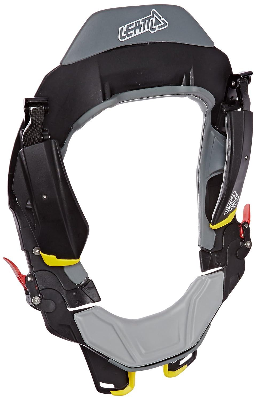 Black//Grey//Yellow 2X-Large Leatt STX Road Neck Brace Street Motorcycle Body Armor