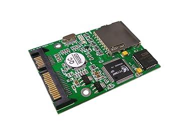 Tarjeta SD (Secure Digital) a SATA adaptador: Amazon.es ...