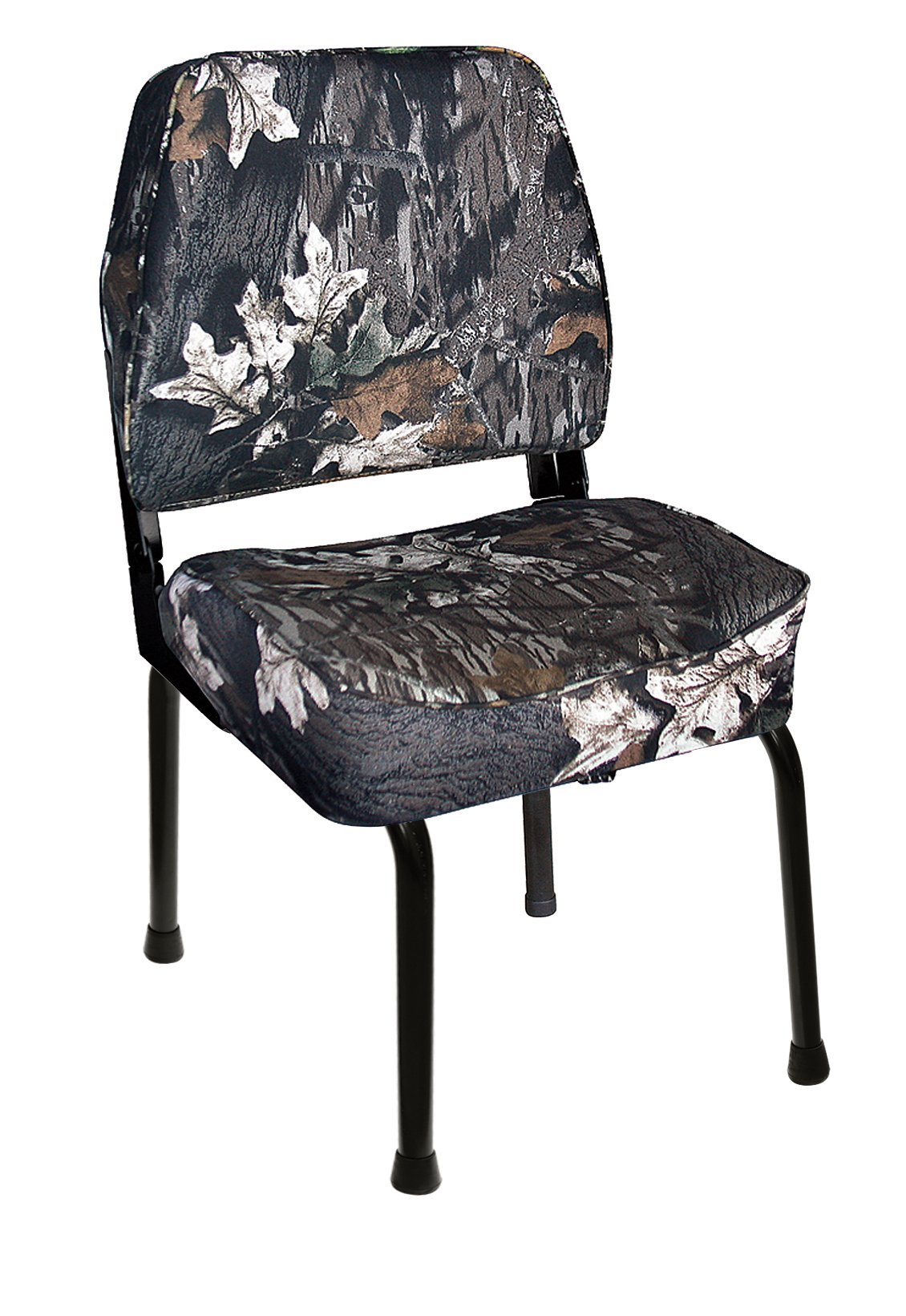 Wise Outdoors WD305-763FLD Hunting Blind Seat Combo with Folding Seat Stand & Swivel, Mossy Oak Break-Up Camo