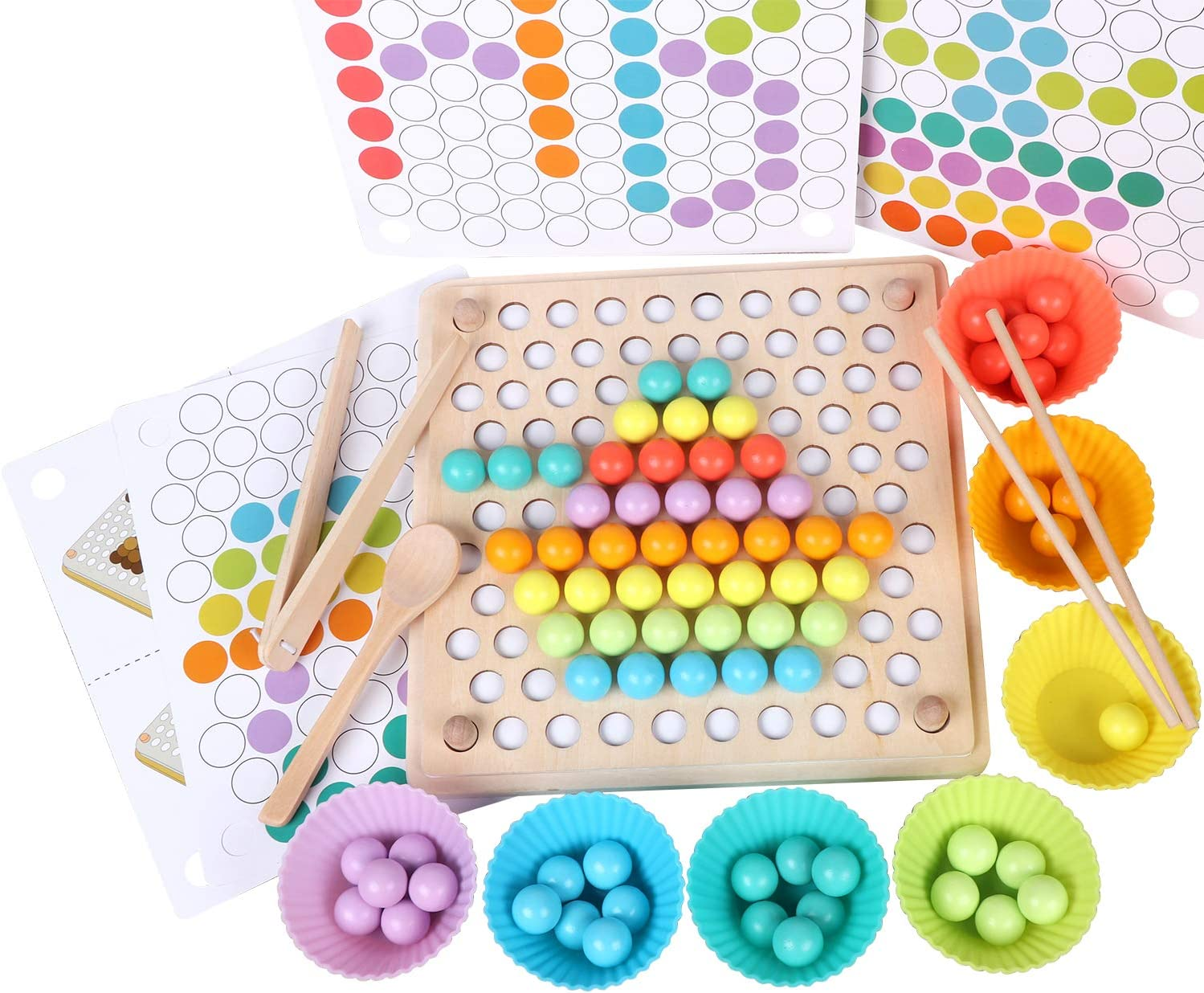 educational game group game GAME build a ship yourself SORTING Color Activity toys toddlers Montessori toy ,Fine motor skills toys