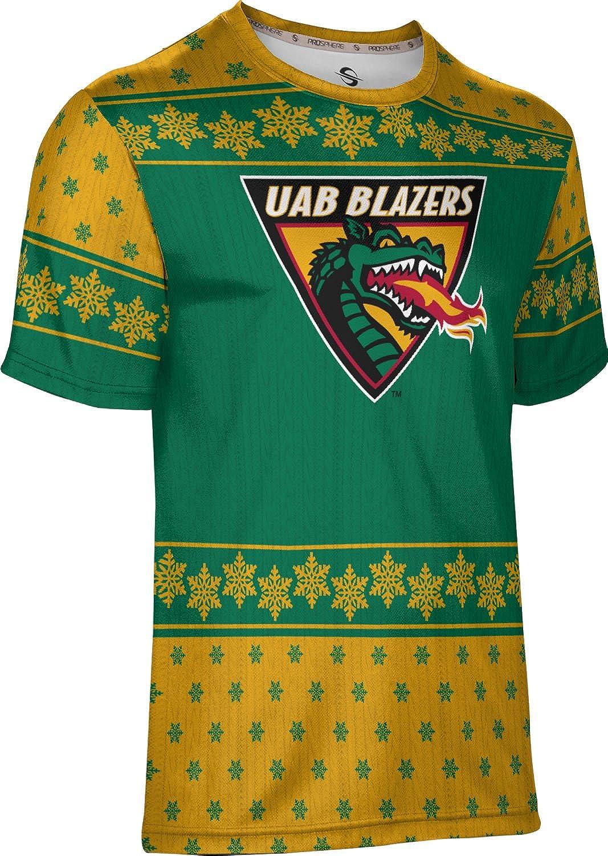 Snowflake University of Alabama at Birmingham Ugly Holiday Mens Performance T-Shirt