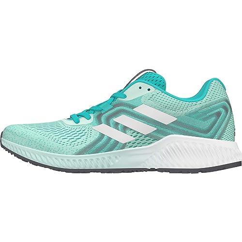 info for e52d7 80c51 Adidas Womens Aerobounce 2 W HiraquSilvmtClemin Running Shoes-8 UK