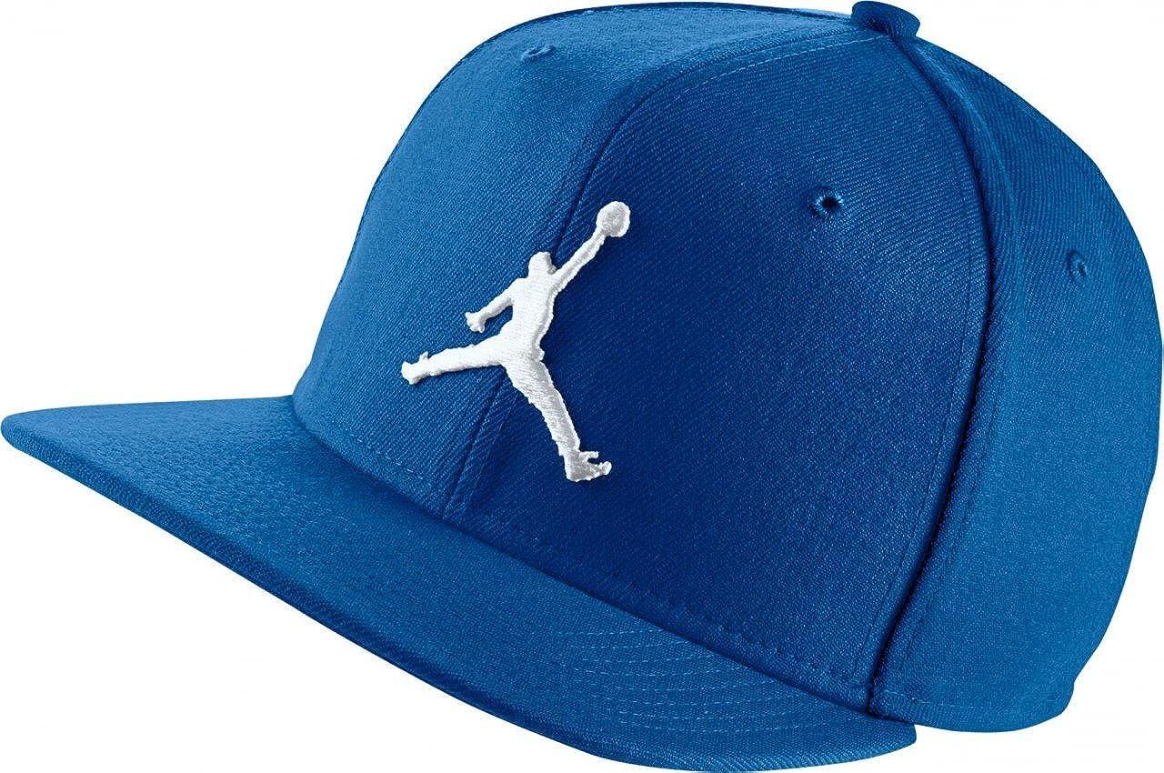 Jordan Cap - Jumpman Snapback Blue White Size  Adjustable  Amazon.co.uk   Clothing 3fc83953421