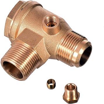 Válvula antirretorno 3/4 x 3/4 (26 mm x 26 mm) compresor de aire ...
