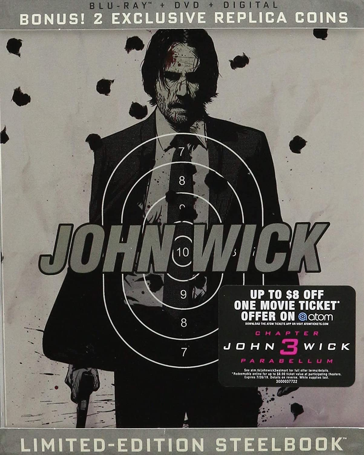 John Wick [USA] [Blu-ray]: Amazon.es: Cine y Series TV