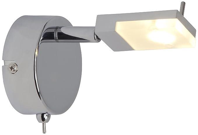 Plafoniera Da Esterno Con Interruttore : Brilliant faretto da parete con interruttore lampadina led w