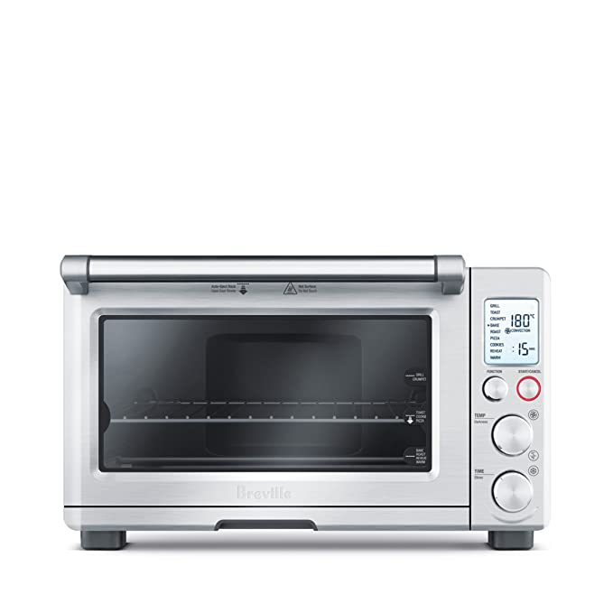 Breville BOV800XL Smart Oven 1800-Watt Convection Toaster Oven with Element IQ, Silver toaster ovens