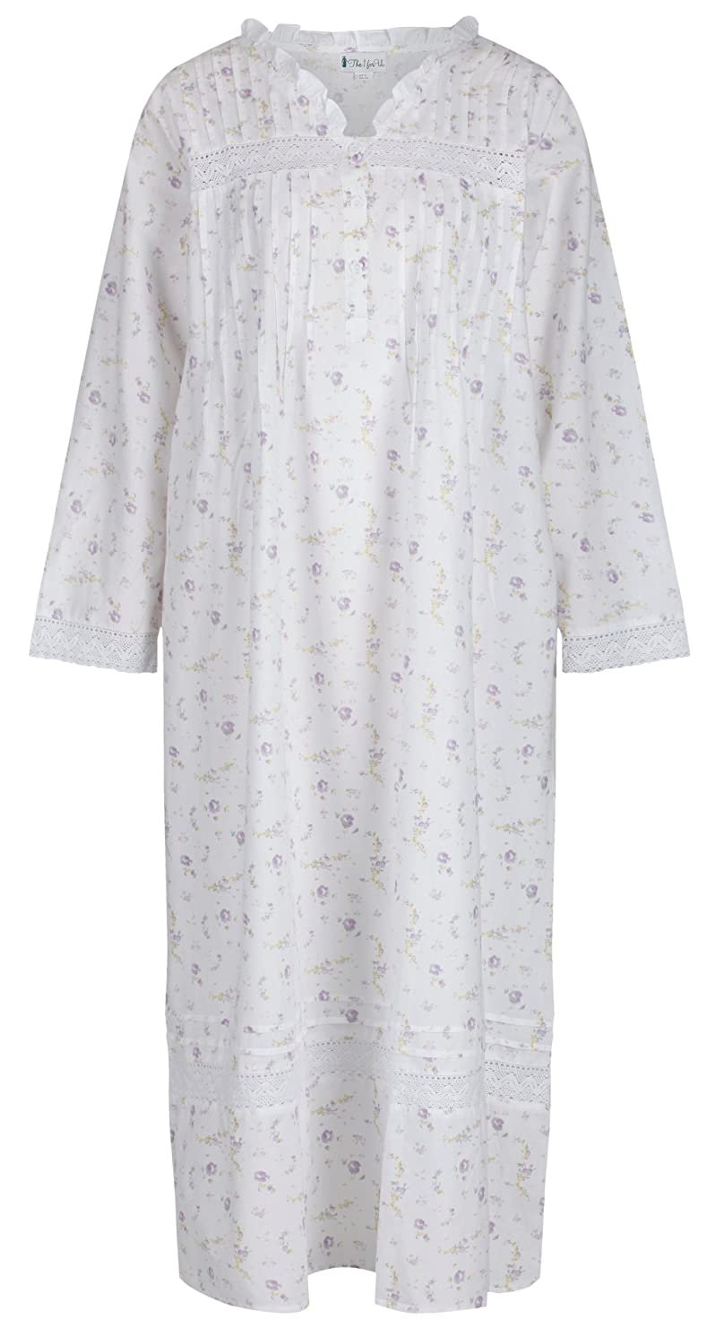 The 1 for U 100% Cotton Nightgown Vintage Design - Annabelle at Amazon  Women s Clothing store  0da5c1b5fd98