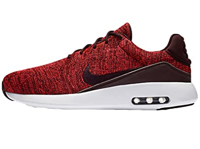 low priced df078 bc15a Amazon.com   NIKE Men s Air Max Modern Flyknit Running Shoes Burgundy  876066-600   Road Running