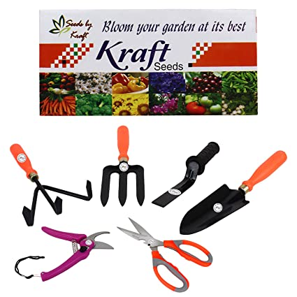 Kraft Seed 6 in 1 Garden Tool Kit
