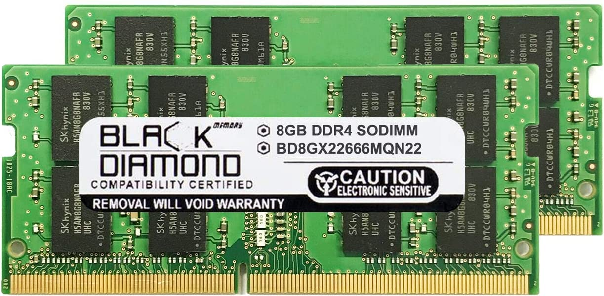 16GB Kit(2X8GB) Memory RAM Compatible for HP - Compaq HP ZBook ZBook 14u G4 Mobile Workstatio,ZBook 17 G3 Mobile Workstation,ZBook 15 G3 Mobile Workstation,Studio G3 Mobile Workstation,ZBook 15u G5
