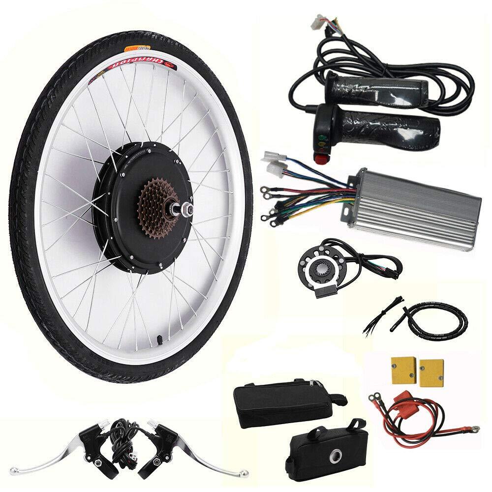 MOMOJA 2648V Kit de conversi/ón de Bicicleta el/éctrica E-Bike Rueda Trasera Hub de Ciclismo Bicicleta Motor Ciclismo Ruedas 1000W