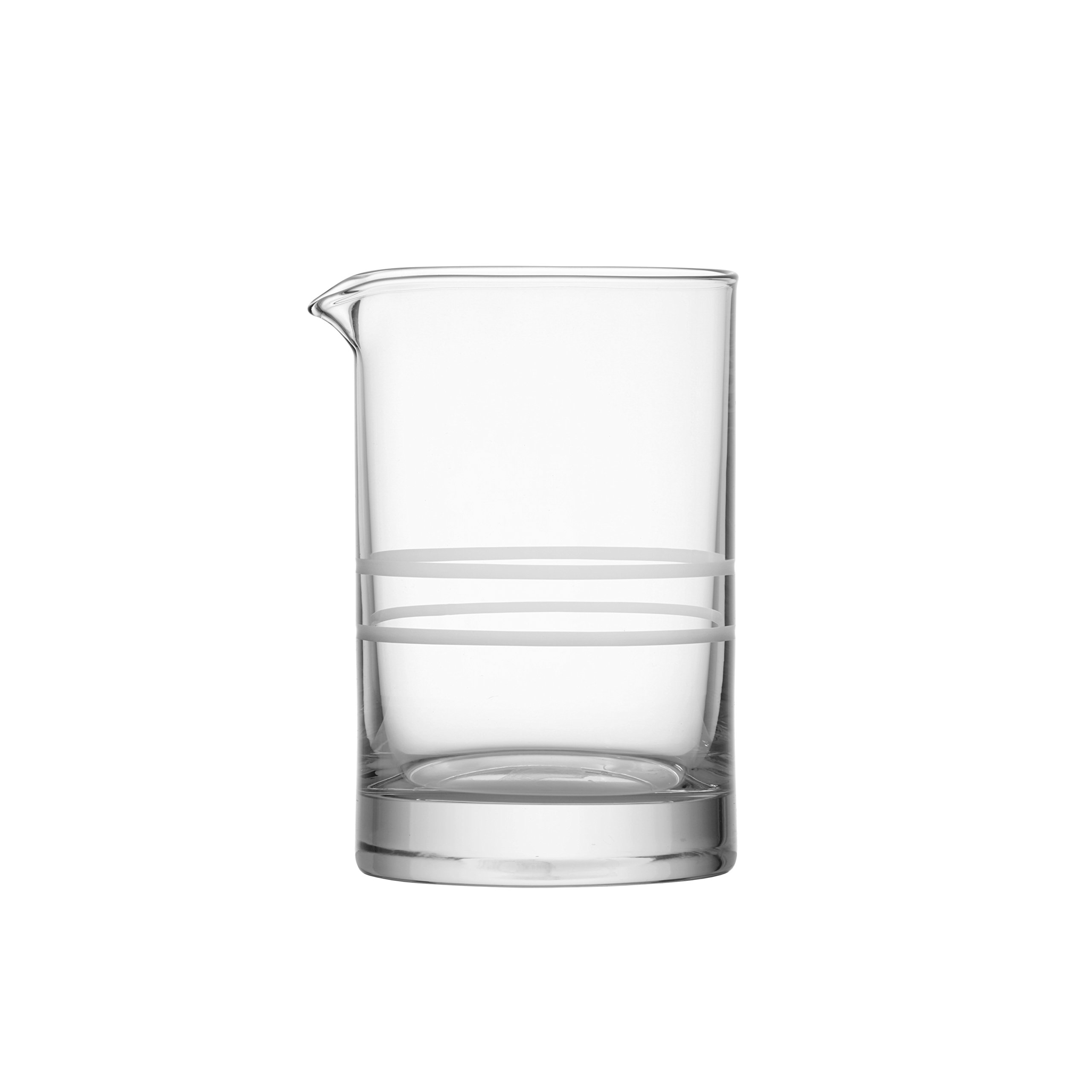 Crafthouse by Fortessa Professional Barware by Charles Joly, Etched Schott Zwiesel Tritan 25.5 oz Cocktail Mixing Glass,