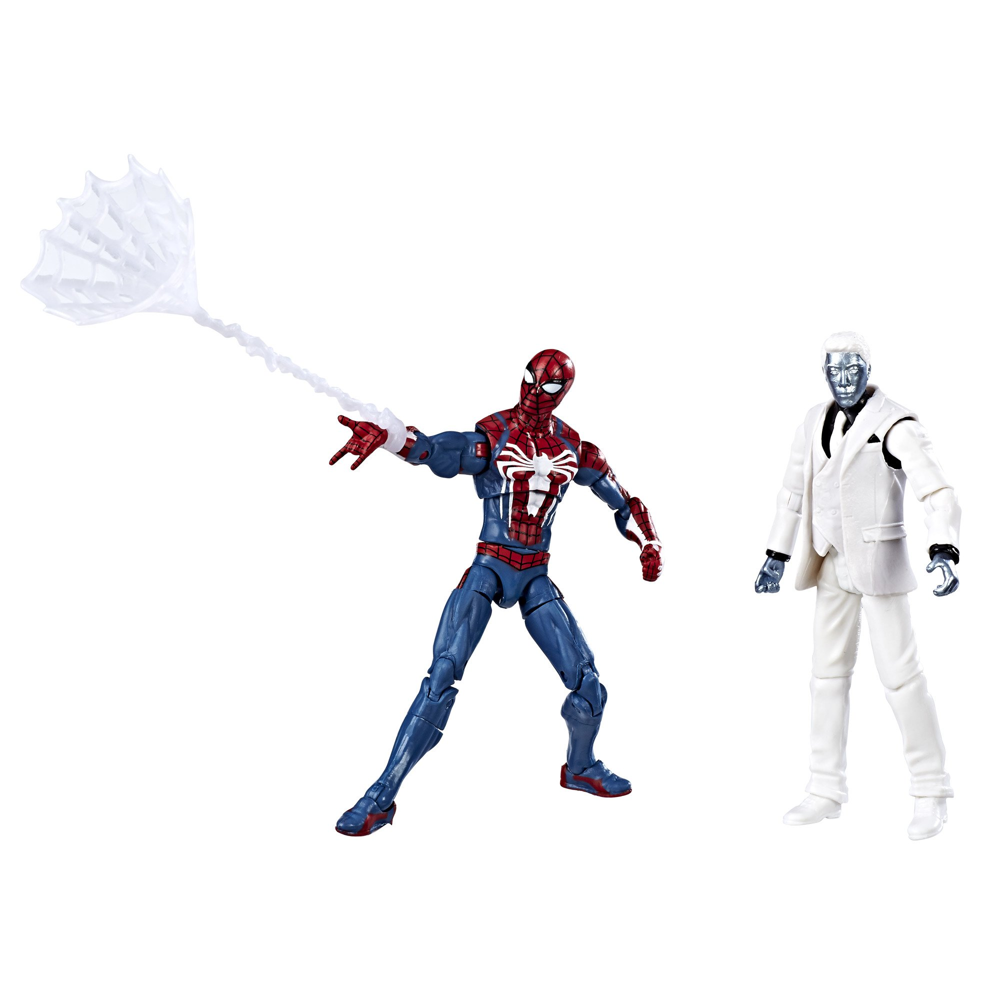 Marvel Gamerverse Spider-Man and Mister Negative Exclusive Action Figure 2 Pack