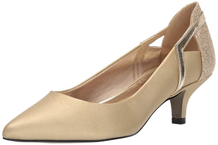 Vintage Style Shoes, Vintage Inspired Shoes Easy Street Womens Fancy Pump $59.95 AT vintagedancer.com