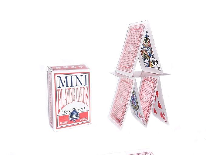 Mini Spielkarten Deck 6x4 cm Poker Skat Romm/é