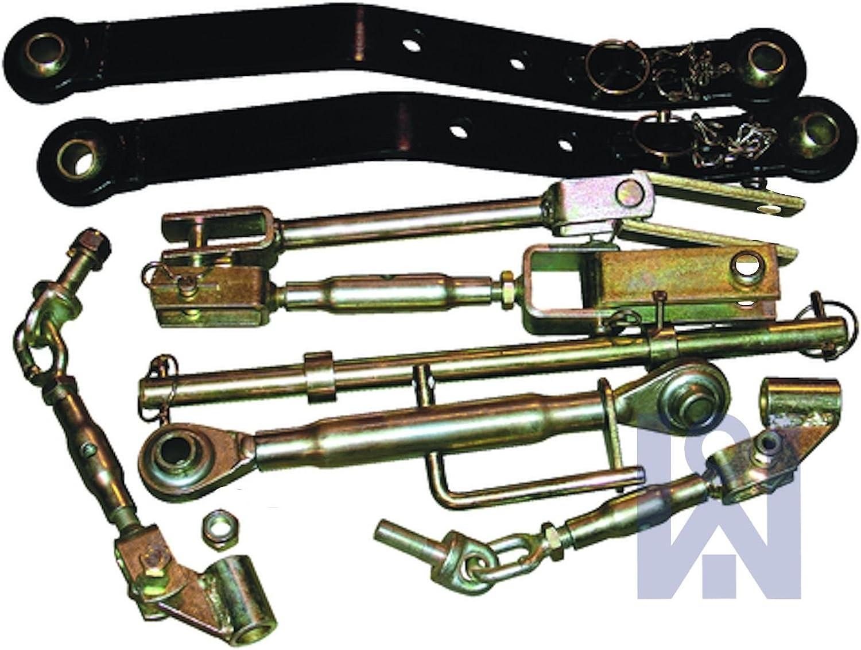 Kit de mecanismo de elevación Iseki, enganche de tres puntos, para tractor utilitario