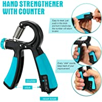 CrownLit Adjustable ABS Hand Grip with Counter (10kg to 40kg)