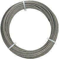 Cozyel 7x19 Cuerda de alambre Cable de 316