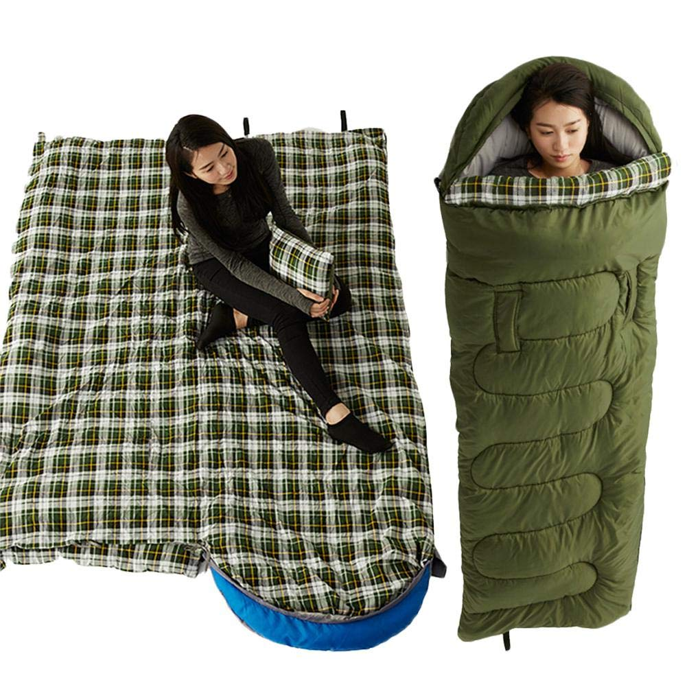 allgreen Ultralight Mummy Sleeping Bag, Mummy Sleeping Bag Reachable Waterproof Cotton for 3-4 Season Camping, Hiking, Traveling, Backpacking and Outdoor Activities Steadfast by allgreen