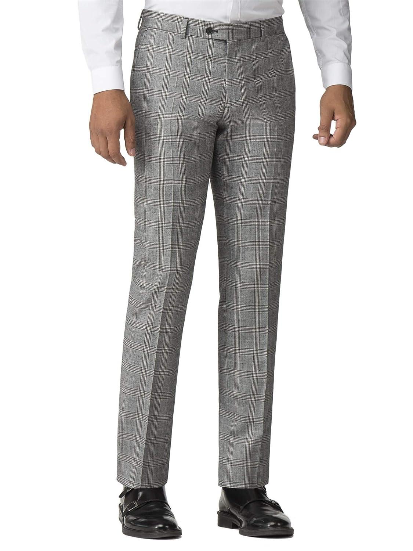 Ben Sherman - Pantalón de Traje - Cuadros - para Hombre Gris ...