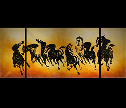 feng shui art for office. Feng Shui Office Painting For Horse Oil 98 Art
