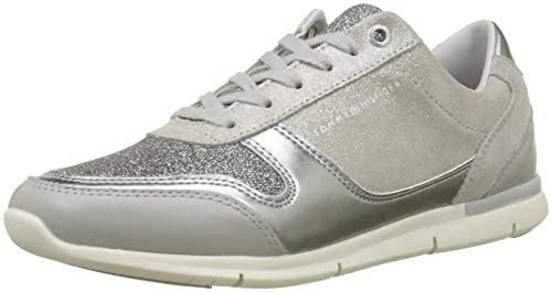 Tommy Hilfiger Sparkle Light Sneaker, Zapatillas para Mujer: Amazon.es: Zapatos y complementos