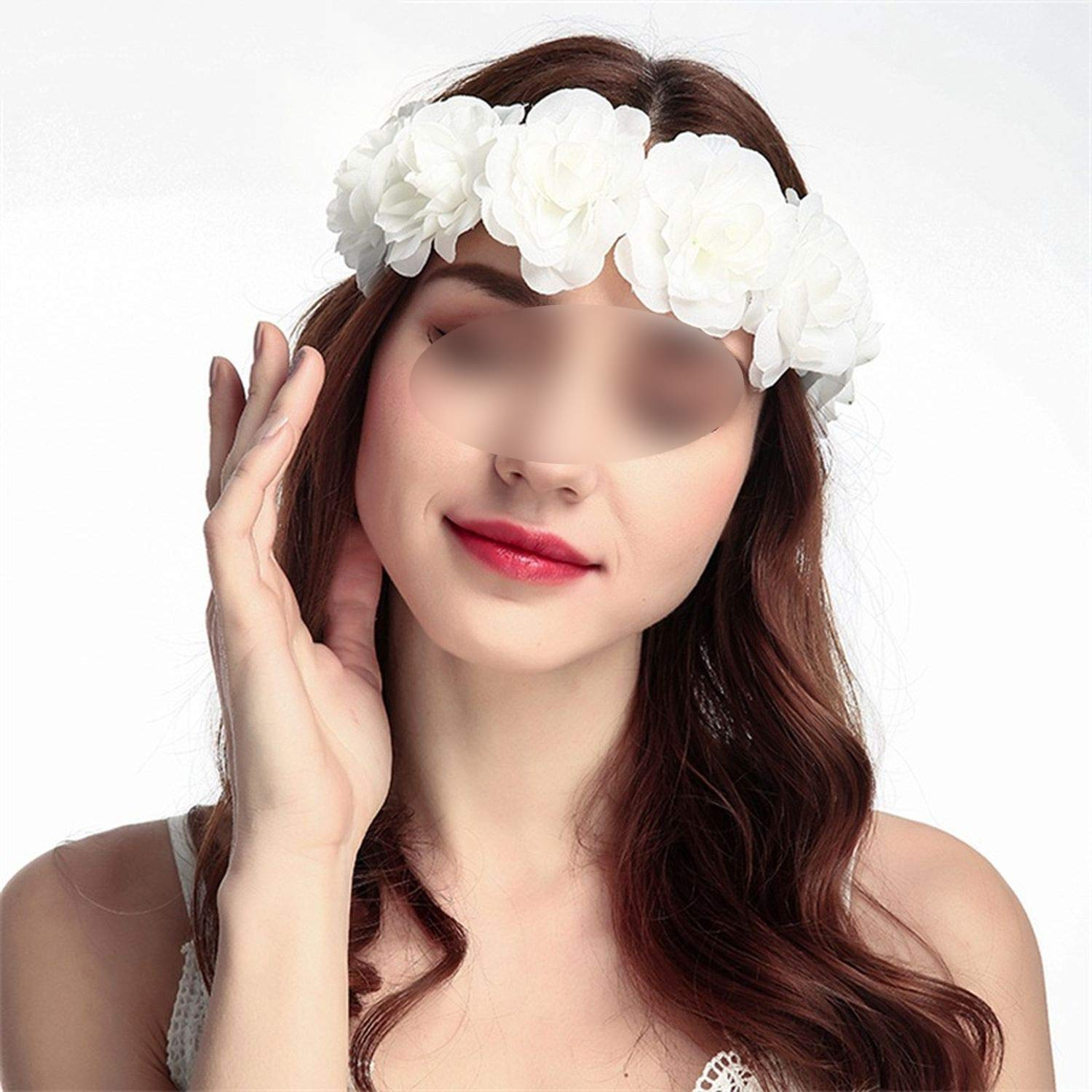 Flower Crown Wedding Bride Wreath Garland Celebration Hair Accessory for women All Saints Day headband,FD1-10,China