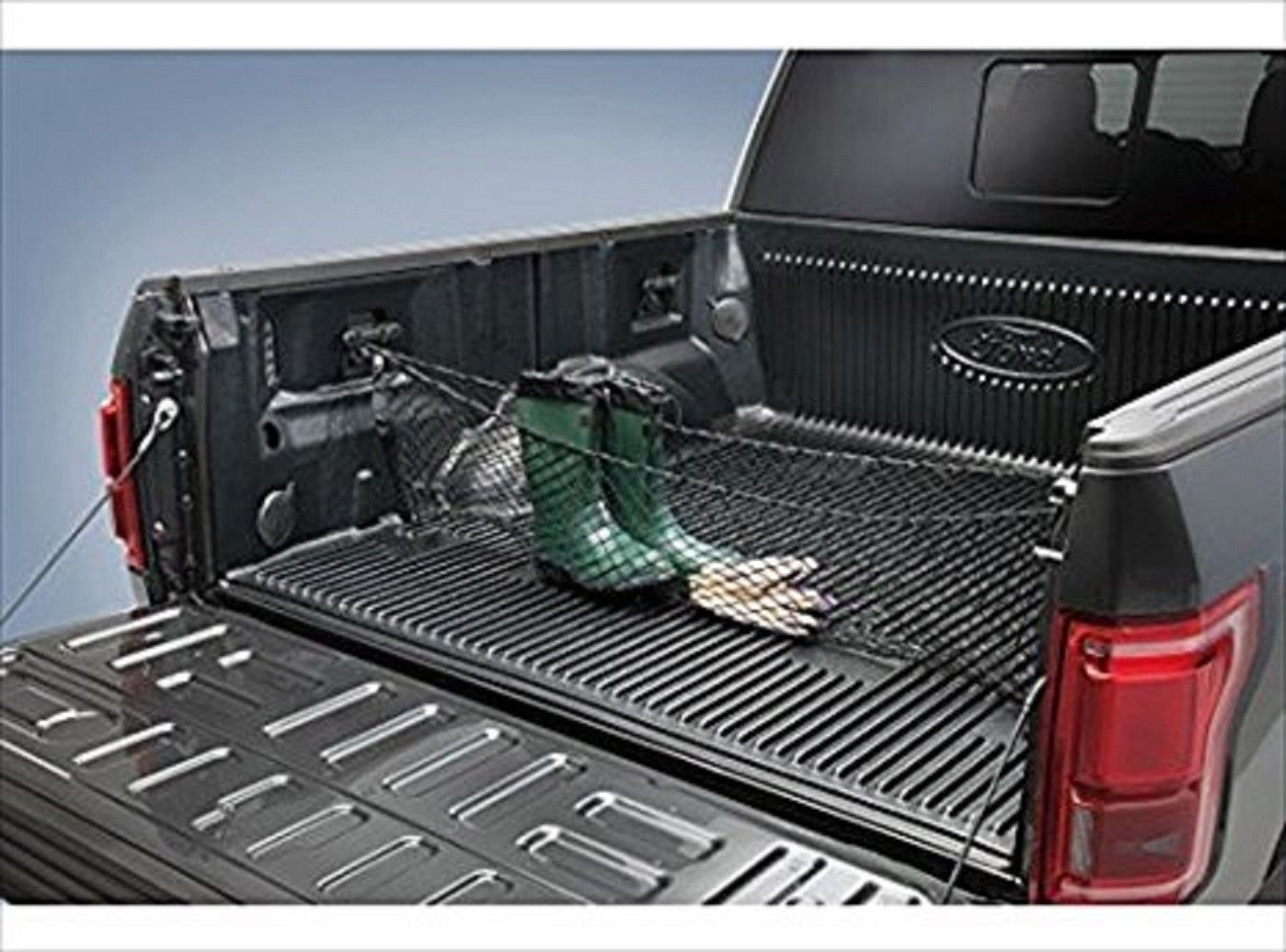 Truck Bed Envelope Style Trunk Mesh Cargo Net for Ford F-150 F150 F 150 2015 2016 2017 2018 Trunknets Inc