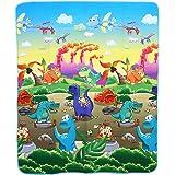 Juego de Alfombra Infantíl Suave y Portátil Alfombra de Piso Dinosaurios Paradise Espuma Juguete de Gatear