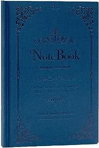NTCY Cuaderno A5 Cuaderno De Papelería Portátil De Cuero