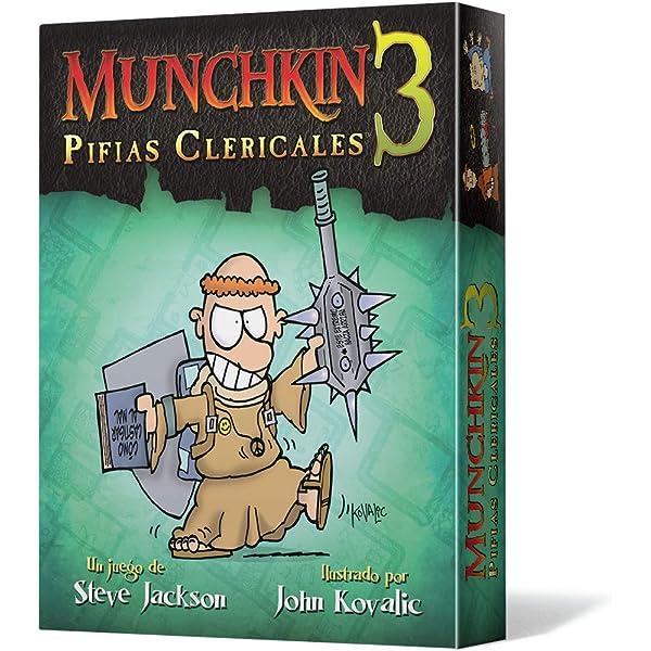 Edge Entertainment - Munchkin 3: Pifias clericales, juego de mesa ...