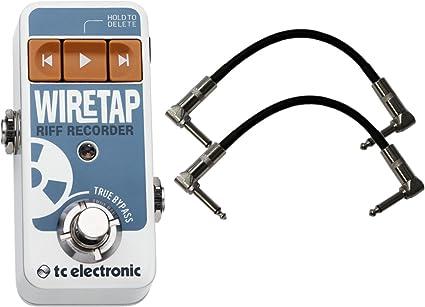 Pedal-Simple Riff Recorder NEW TC Electronic WireTap Riff Recorder