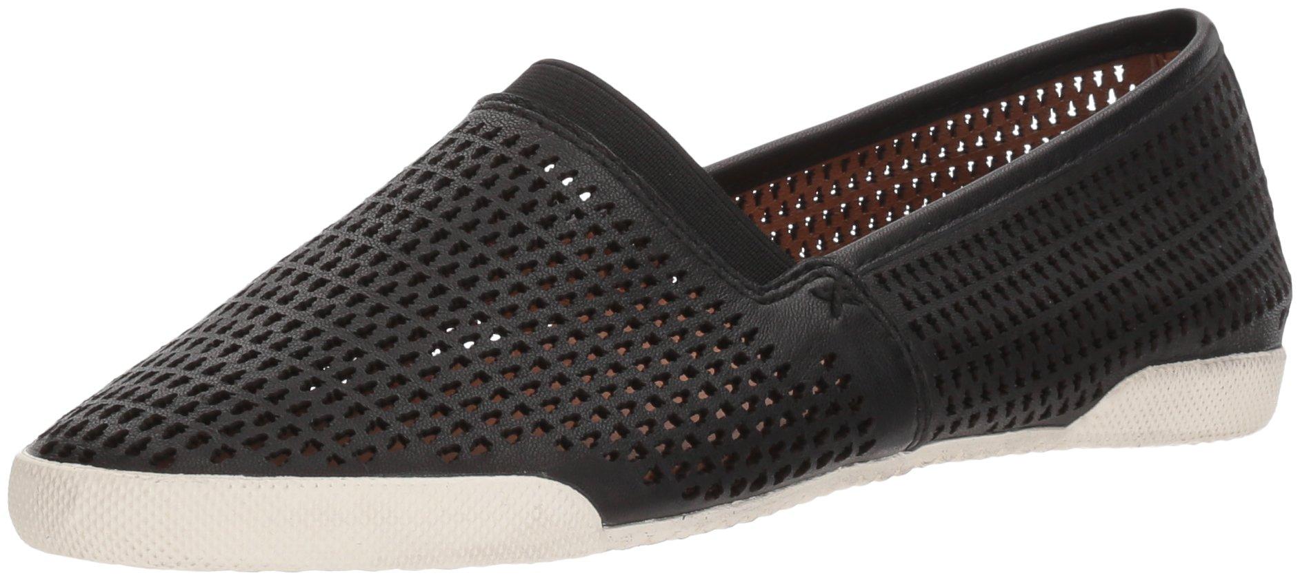 FRYE Women's Melanie Perf Slip On Sneaker, Black, 9 M US