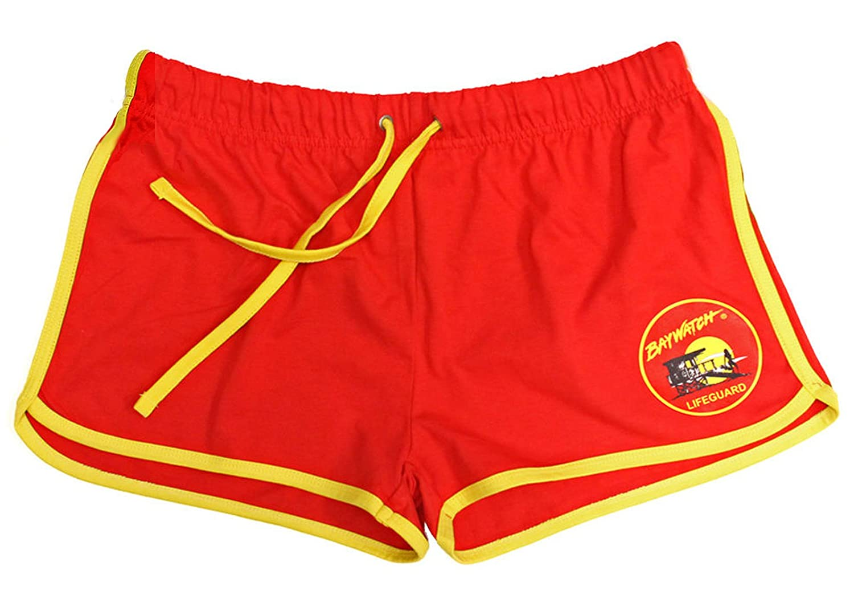 Lifeguardgear Baywatch - Pantalones Cortos para Mujer, Color Rojo ...