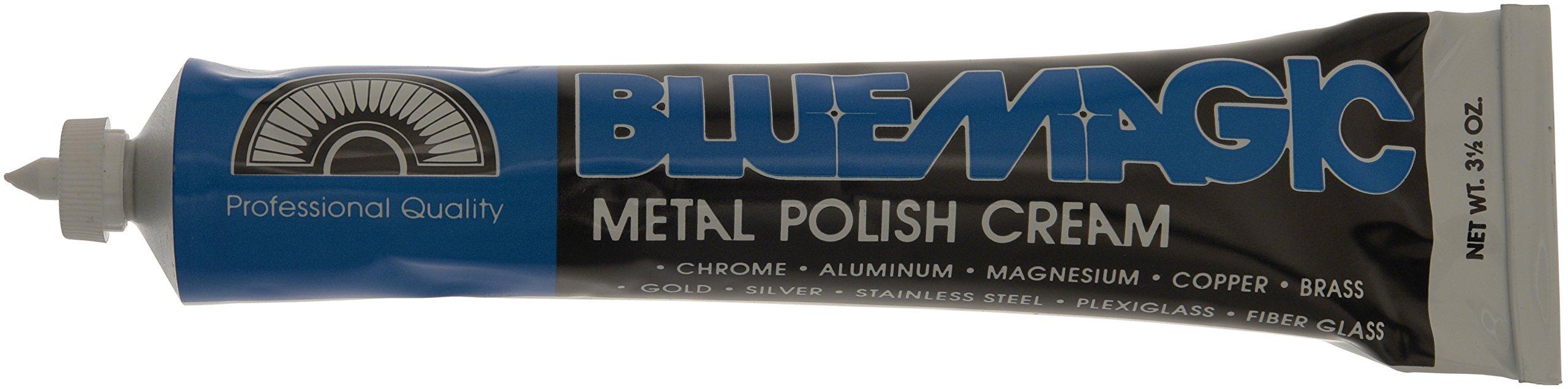 Blue Magic 100 Metal Polish Cream - 3.5 oz, White