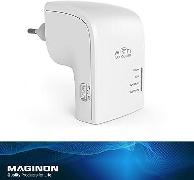 Amazon.com: Maginon WLR-755 - Extensor de señal externa WiFi ...
