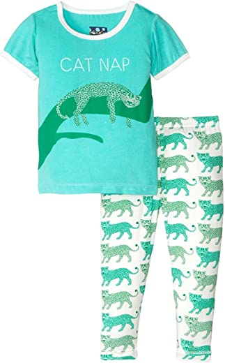 Kic Kee Pants Baby Girls' Print Short Sleeve Pajama Set Prd-kppj108-nld