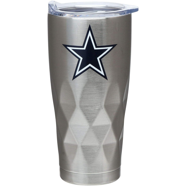 The Memory Company Dallas Cowboys 22 oz Diamond Bottom Stainless Steel Tumbler