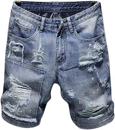 Domorebest Pantalones Cortos De Dril De Algodón para Hombre De ...