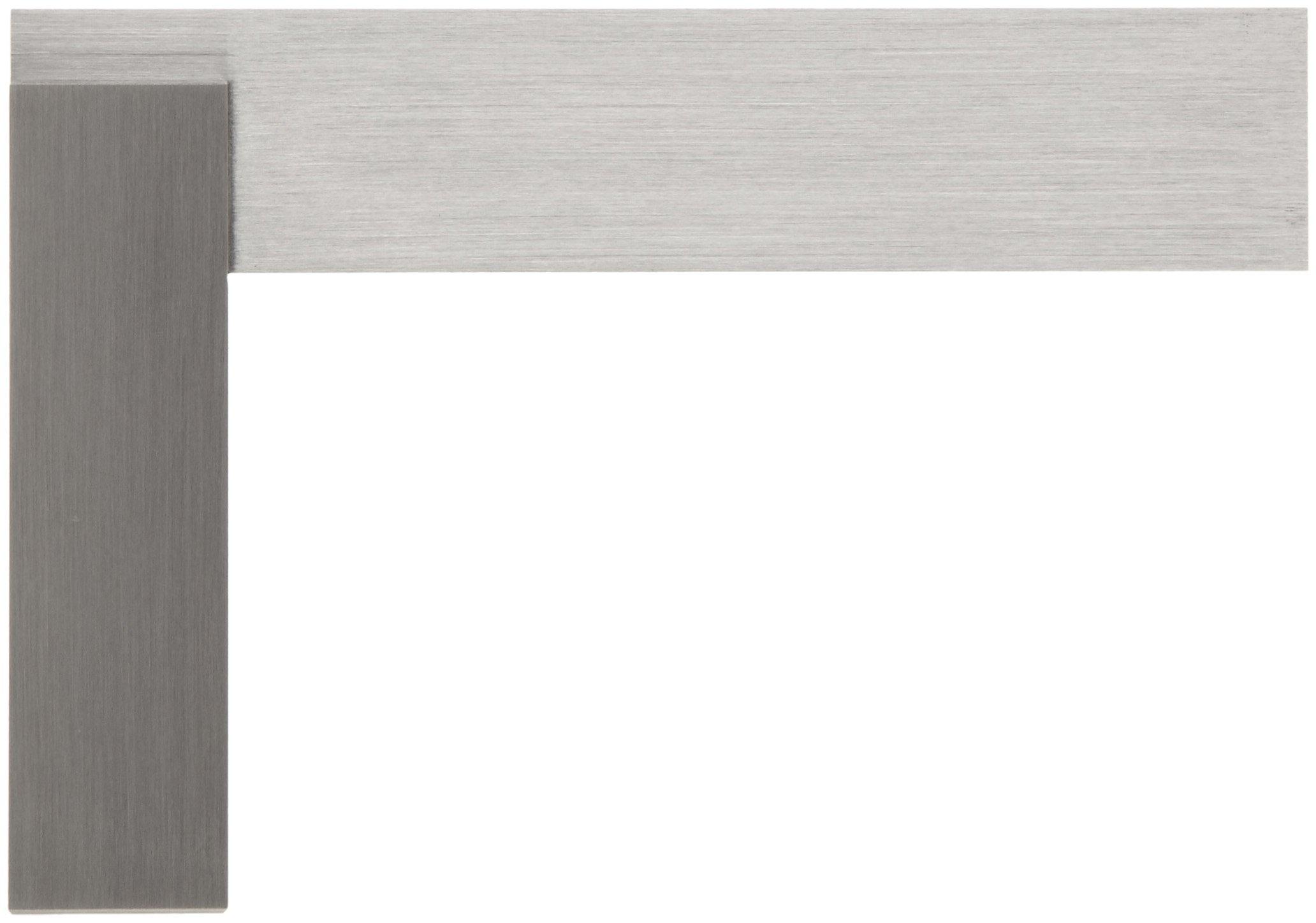 Starrett 20-4-1/2 Hardened Steel Master Precision Square, 3 -1/2'' Beam Length, 4-1/2'' Blade Length