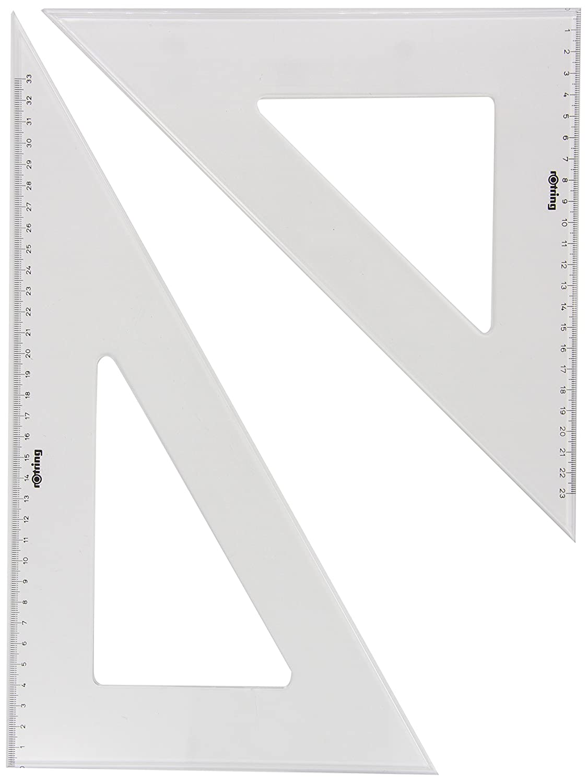 Rotring Centro transportador semicircular de 10cm S0221230