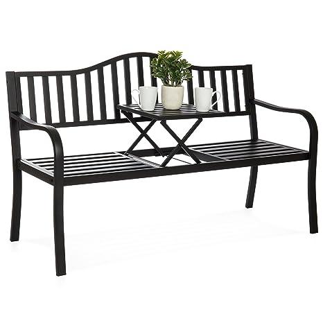 Strange Best Choice Products Sky4685 Patio Bench Machost Co Dining Chair Design Ideas Machostcouk