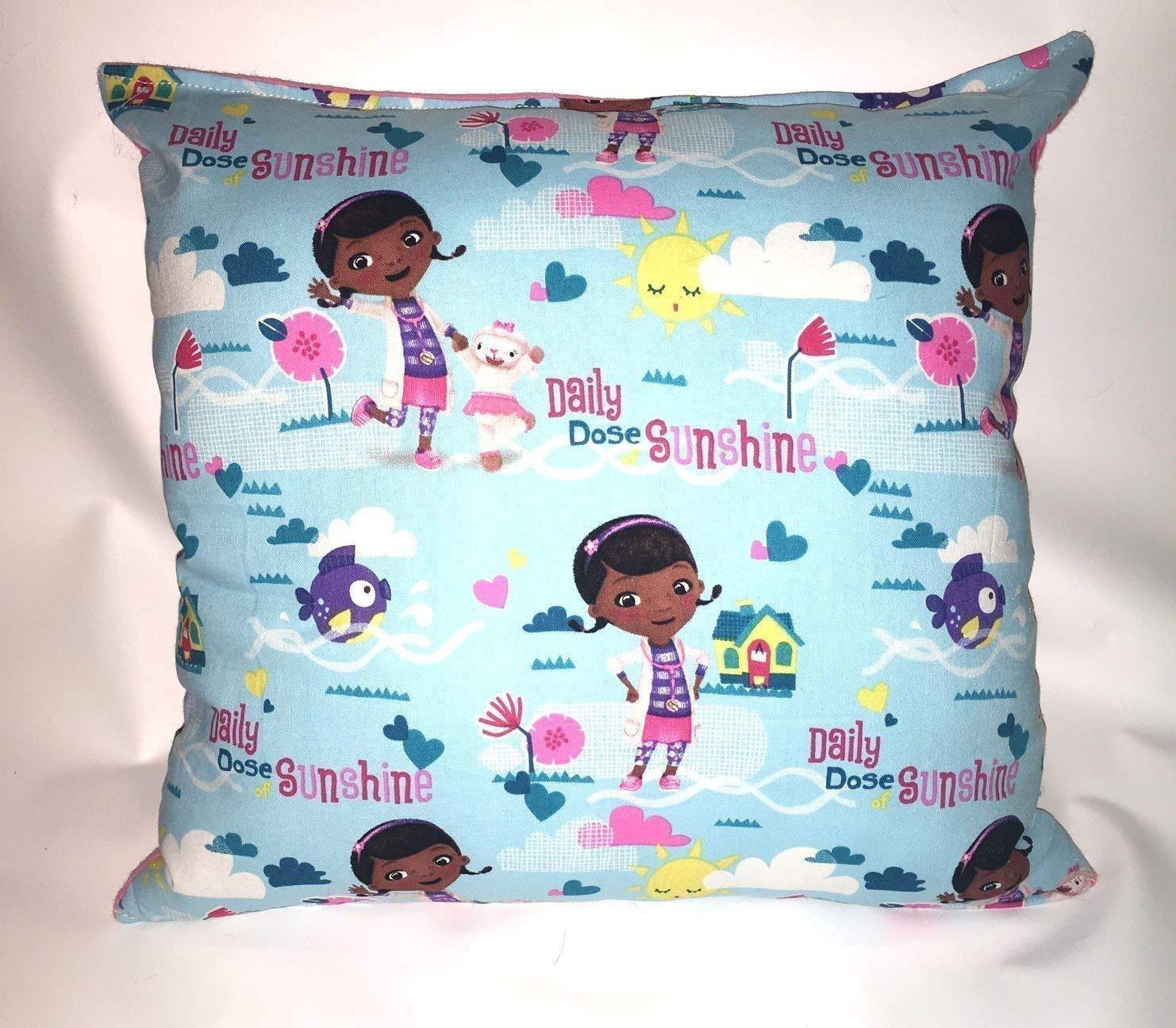 Doc McStuffins Pillow and Fleece Throw Blanket New