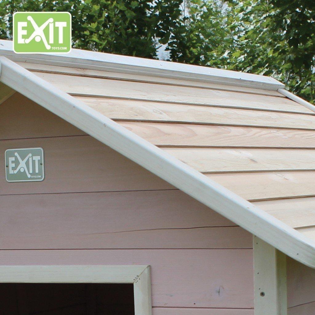 EXIT Beach 100 Wooden Playhouse - Pink Casa de Juegos de Suelo - Casas de Juguete (Casa de Juegos de Suelo, Niño/niña, 3 año(s), Rosa, 10 año(s), ...