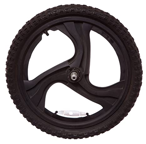 """WD Mag 20 """"trasero eje sólido para bicicleta BMX rueda en negro (3"""