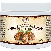 Shea Butter African 250g - Refined - Butyrospermum Parkii Butter - African -Ghana - 100% Pure & Natural - Sheabutter…