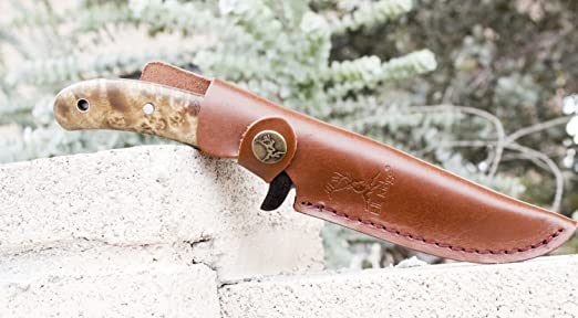 Amazon.com: Best Fixed Blade cuchillo de caza con vaina ...
