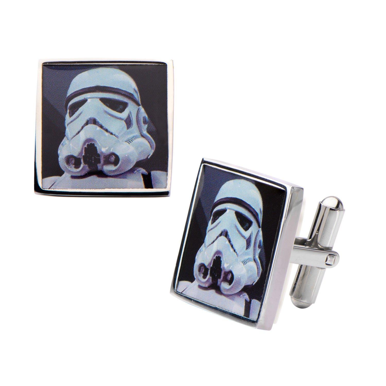 Star Wars Stormtrooper Gemelos Acero Inoxidable: Amazon.es: Joyería